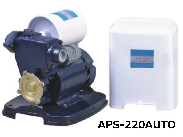 APS-220AUTO Series Self-priming Peripheral Pumps