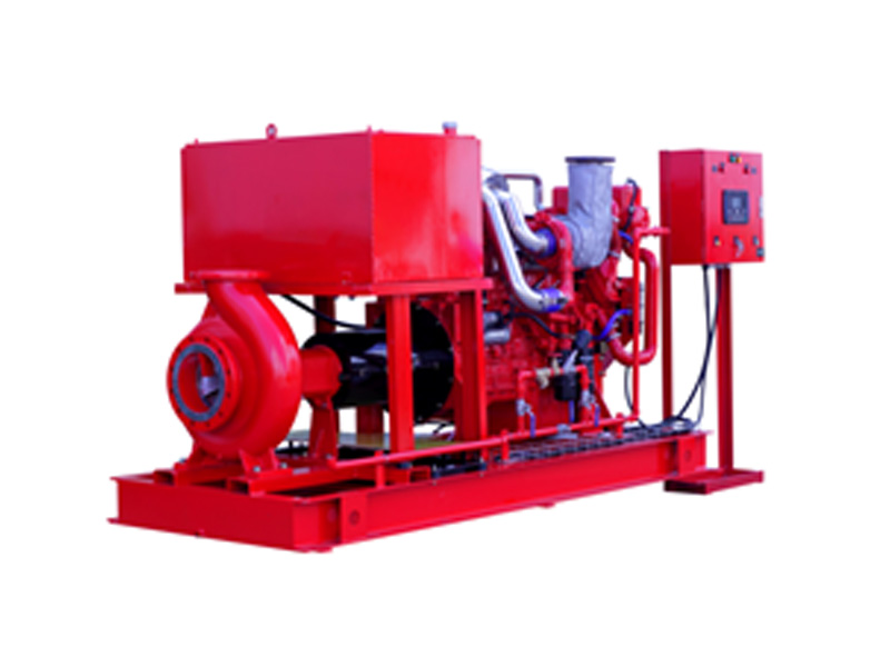 End Suction Pump Set with Diesel Engine