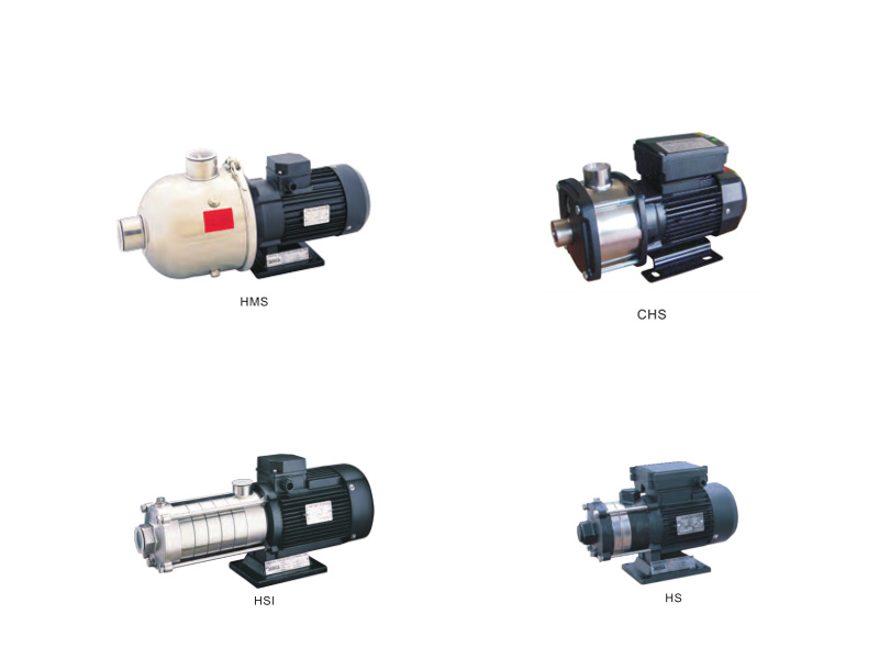 HMS HS HSI  Multistage Stainless Steel Centrifugal Pump