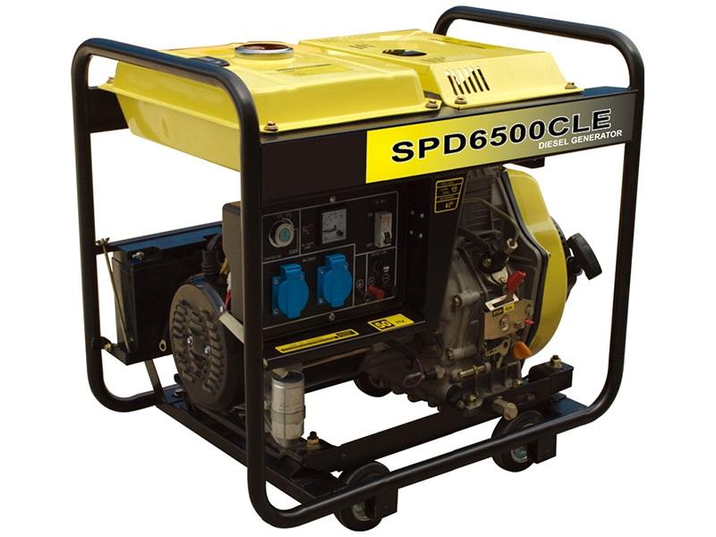 Diesel Generator SPD6500CLE