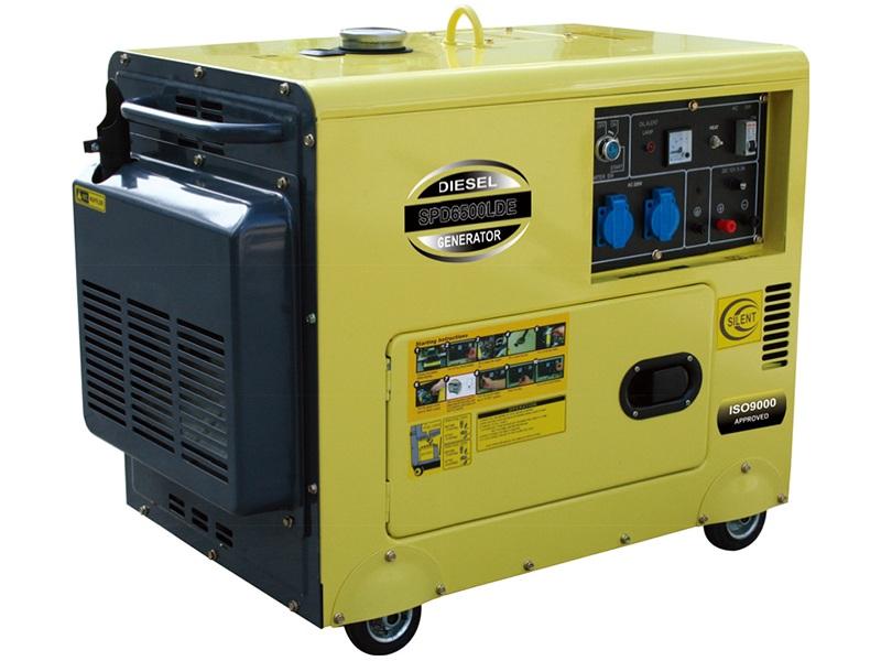Diesel Generator SPD6500LDE